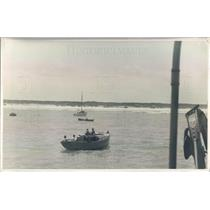 1921 Press Photo FL Salvaging The Isis US Coast & Geodetic Survey Ship