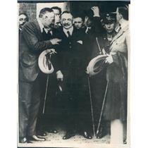 1923 Press Photo Madrid Spain Prime Minister General Primo de Rivera - ner28681