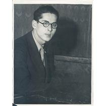 1930 Press Photo CA Imre Weisshauss Hungarian-French Pianist-Composer