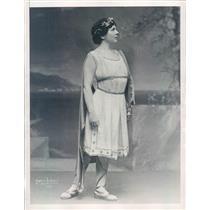 1928 Press Photo NYC Metropolitan Opera Singer Louise Homer - ner30631