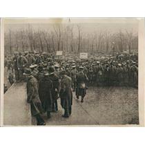 1920 Press Photo Berlin Germany Riots - ner31803