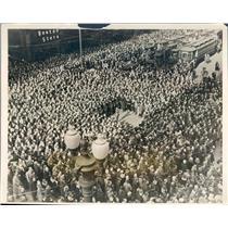1926 Press Photo Chicago IL Armistice Day Celebration State & Madison