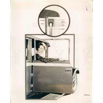 1928 Press Photo Detroit MI Diagram Deluxe Door for 1928 Hudson Car - ner37697