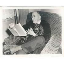 1940 Press Photo NBC News Commentator HV Kaltenborn - ner38181