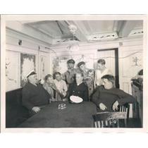1930 Press Photo CBS Mr Pierson, Peter Pillbean, Alfred, Capt Haft - ner38431