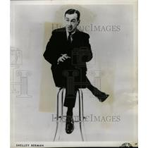 1960 Press Photo Actor Comedian Shelley Berman - RRW20297