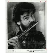1982 Press Photo James Galway Flutist - RRW13929