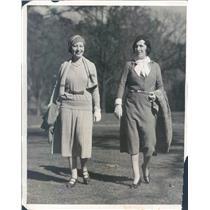 1931 Press Photo White Sulphur Springs WV Operatic Star Lucrezia Bori