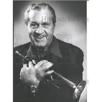 1982 Press Photo James Dugald McPartland Cornetist - RRV30471