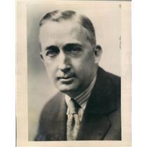 1927 Press Photo Biarritz France Roy MacWilliams American Consul - ner50621