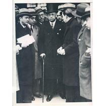 1931 Press Photo Madrid Spain Manuel Gracia Prieto Finance Minister - ner51583