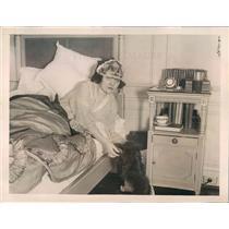 1922 Press Photo Chicago IL Virginia Milner Thorne Wife Gordon Thorne