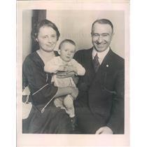 1922 Press Photo Chicago IL Prof John Tiernan, Mrs Augusta Tiernan - ner53353