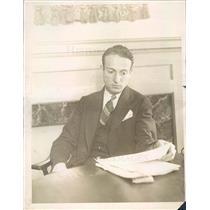 1926 Press Photo Chicago IL Architect Norman Schlossman - ner56915