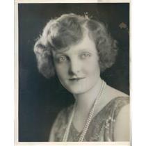 1929 Press Photo Denver CO Opera Singer Lucile Fowler of KOA Radio - ner59051
