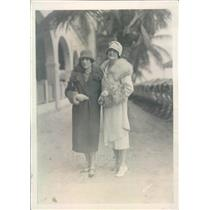1926 Press Photo Miami FL Society Mrs Albert Surprenant, Mrs SA Lynch