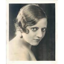1931 Press Photo Jean Carroll Radio Beauty Adviser on NBC Network - ner61129