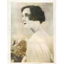 1925 Press Photo Paris France Mabel Gilman Corey Fell From Cliff - ner7435