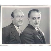 1931 Press Photo NYC Vaudevillians Flip & Skip Comedians Singers - rkf15575