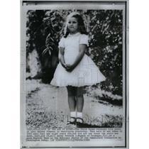 1966 Press Photo White House Luci Baines Johnson Shrine - RRX60611