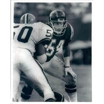 Press Photo NFL San Diego Chargers Linebacker Billy Ray Smith - snb8813