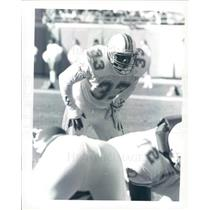 Press Photo NFL Miami Dolphins Running Back Sammie Smith snb9027