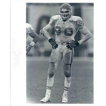 Press Photo NFL Kansas City Chiefs Defensive Ends Neil Smith - snb9041