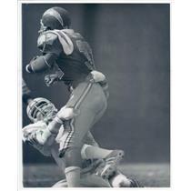 Undated Press Photo  Photo NFL Miami Dolphins Linebacker Doug Swift - snb9051