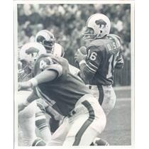 Undated Press Photo Photo NFL Buffalo Bills Quarterback Dennis Shaw - snb9485