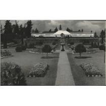 1928 Press Photo Manito Park's Sunken Gardens - spa88125