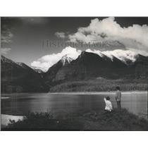 1961 Press Photo Mission Range Mountains in Montana - spa88566
