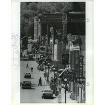 1993 Press Photo Downtown Deadwood in South Dakota - spa90338