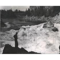 1963 Press Photo Pend Oreille River near Metaline Falls - spa92415