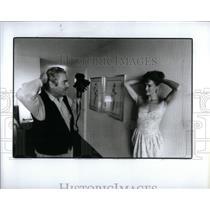 1988 Press Photo Playboy Magazine Photographer Posar - RRX54583