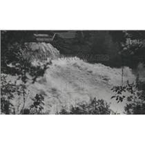 1948 Press Photo Spokane river flood - spa93310