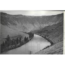 1938 Press Photo Yakima River, from Highway - spa93494
