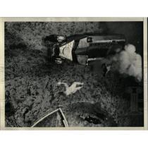 1934 Press Photo Human Projectiles In Flight - RRX80257