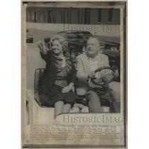 1972 Press Photo Hollywood Joan Blondell Pet O Brien - RRV15887