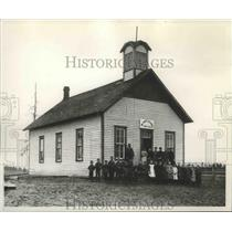 1893 Press Photo The Mt Hope School prior to 1894 - spa95381