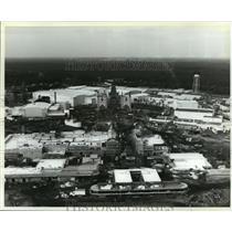 1988 Press Photo Construction on movie park portion of The Disney-MGM Studios