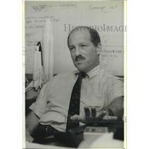 1988 Press Photo Rick Hauck Discovery commander. - mjb64599