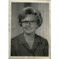 1968 Press Photo Mrs. John Love Colorado Governor Wife - RRX45065