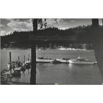 1941 Press Photo Dock of Yacht Club Pend Oreille Lake - spa87388