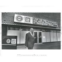 1984 Press Photo Al Warren UAW-GM Skill Development - RRV36873