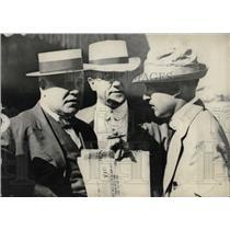 1913 Press Photo Secy Lane Denver Visit Talking - RRW78109
