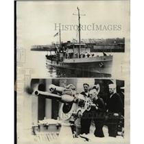 1928 Press Photo Coast Guard Cutter Marion Scientific - RRX72351