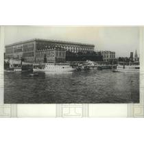 1929 Press Photo Royal Palace in Stockholm, Sweden built 1756 to '71 - spb03508