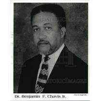 Press Photo Dr. Benjamin F. Chavis Jr., American Civil Rights Leader