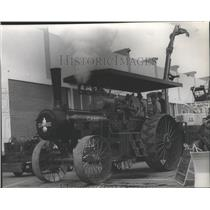 1916 Press Photo Old Case Co- Steam Engine Tractor - spb07408