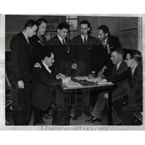 1940 Press Photo Mayfair Hall Communistic Convention - RRW89675